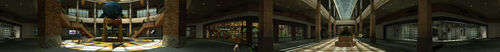 Dead rising PANORAMA Entrance Plaza main entrance beginning of game COMPLETE