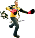 Dead rising flaming gloves combo 3
