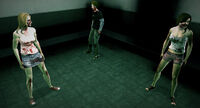 Dead rising zombies groups of 3 (2)