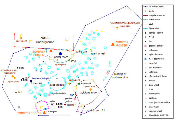 Dead rising atlantica casino coordinates map