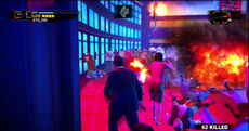 Dead rising off the record arena introduction explosions