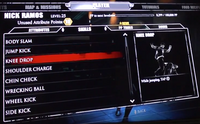 Dead rising 3 knee drop on skills page