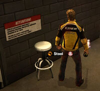 Dead rising Stool (Case West) name