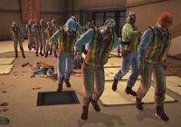 Dead rising zombie maintenance three types