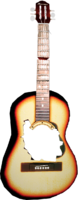 Dead rising Acoustic Guitar broken