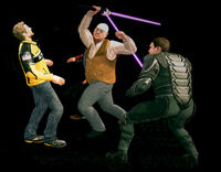 Dead rising mod adding characters WithProp LaserLightSword (4)