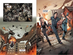 Dead rising 3 comicbook page 1 and 2