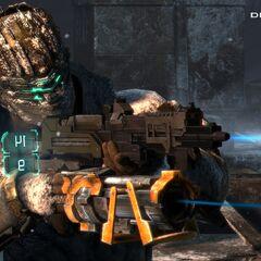 Улучшенное оружие, одна из новинок в <i>Dead Space 3</i>