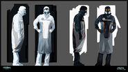 Dead Space 2 Concept Art by Joseph Cross 21a