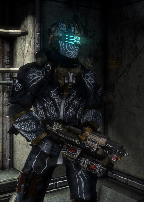 Evangelizer dead space wiki fandom powered by wikia weapon information malvernweather Image collections