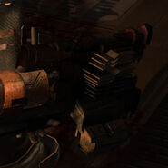 Dead space contact beam