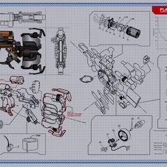 Схема сборки резака из <i>Dead Space 2</i>
