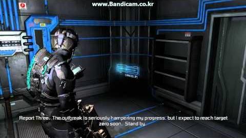 Dead Space 2 Audio Logs 4 - Hampered( Franco Delille's Log Part 3 )