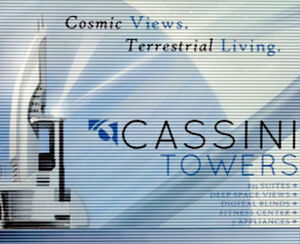 Cassini towers
