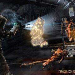 Айзек сражается с Подрывниками