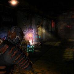 Пузырь в Dead Space 3.