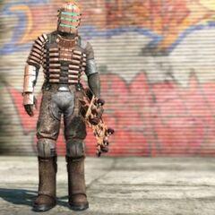 Айзек доступен, как игровой персонаж, после ввода (