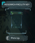 Research facility key