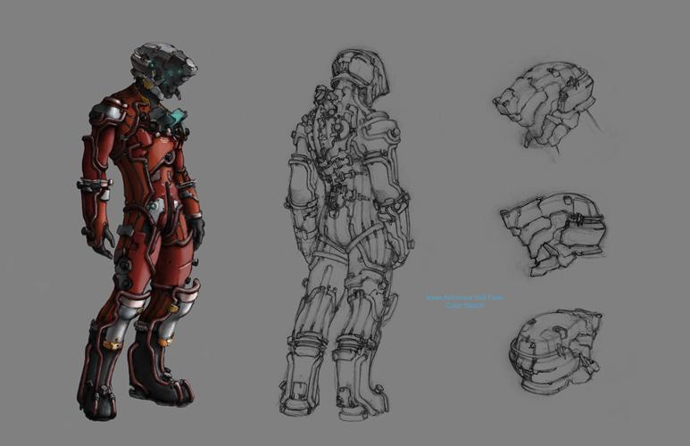 Image - Concept vis isaac astronaut suit view jpg | Dead