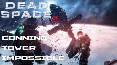 Dead Space 3 - (Isaac) Conning Tower Walkthrough Impossible Difficulty (PC)