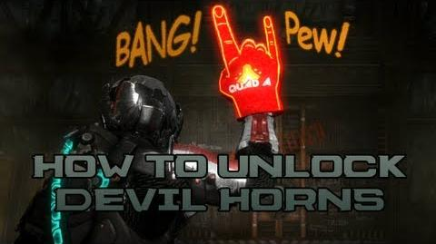 Dead Space 3 - How To Unlock Devil Horns