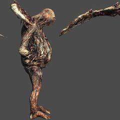 Игровой рендер мумифицированного Беременного
