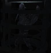 DeadSpace Ch5 Hunter frozen