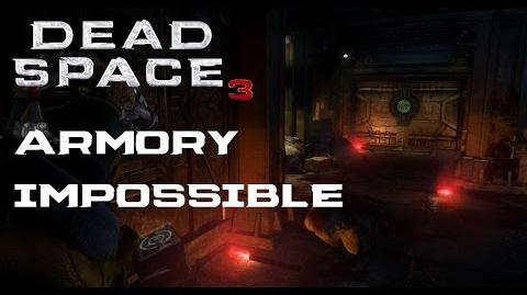 Dead Space 3 - (Isaac) Armory Walkthrough Impossible Difficulty (PC)
