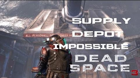 Dead Space 3 - (Isaac) Supply Depot Walkthrough Impossible Difficulty (PC)