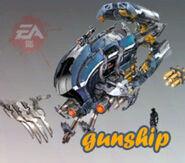 Gunship toy