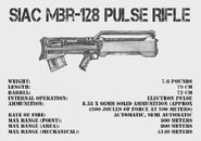 SIAC MBR 128 Pulse Rifle by Coonass