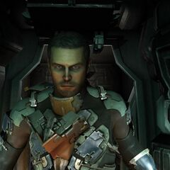 Айзек в Dead Space 2