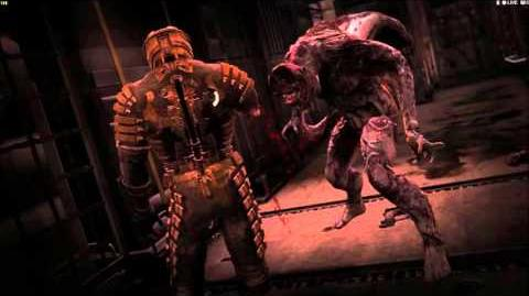 Dead Space- Rare Twitcher Death Scene