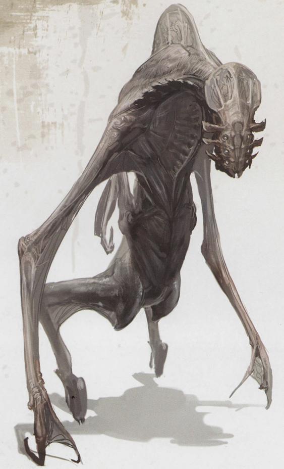 Alien Species Alien Animal Concept Art