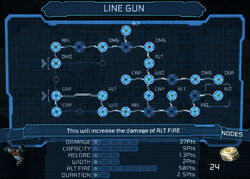 Line gun bench 25