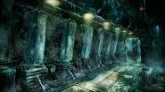 Concept crypt storage