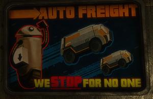 Auto freight ad