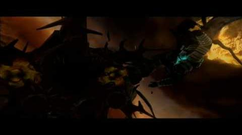Dead Space - Hive Mind Death Scene (Final Boss)