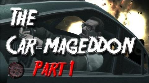 Grand Theft Auto IV The Car-mageddon Part 1