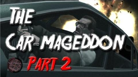 Grand Theft Auto IV The Car-mageddon Part 2