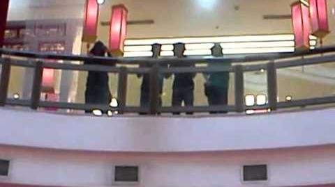 Caramelldansen in Public