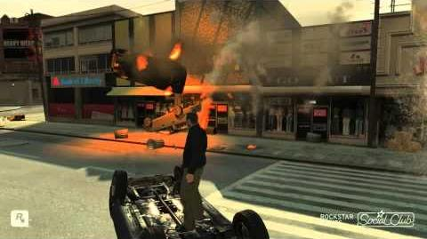 GTA IV Car Madness