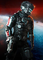 DS3 mass effect 3 N7 costume