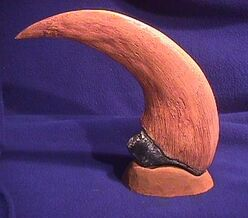 DINO UTAHRAPTOR CLAW BASE