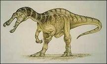 213073 suchomimus tenerensis dinosaur painting 300