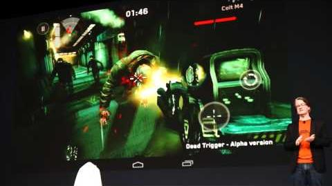 ASUS Nexus 7 × Dead Trigger©