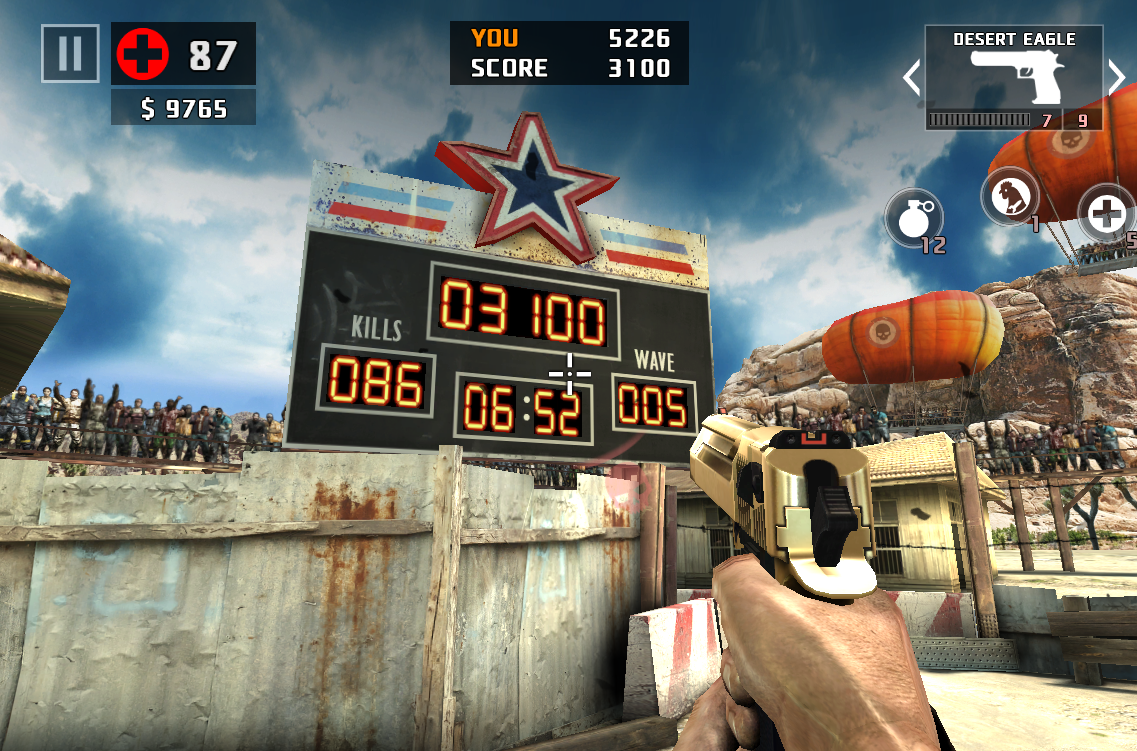 Arena of death dead trigger wiki fandom powered by wikia the scoreboard malvernweather Images