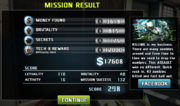 Missionresult
