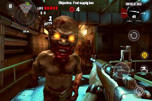 Head Flated Zombie