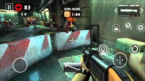 Dead Trigger 2 Grenade Launcher Only